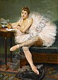 PIERRE CARRIER-BELLEUSE, (FRENCH 1851-1932), THE BALLERINA, Pierre Carrier-Belleuse, Click for value