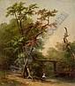 RUSSELL SMITH, (AMERICAN 1812-1896), OLD GREENLANE BRIDGE, Russell Smith, Click for value