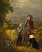LOUIS SIMON CABAILLOT LASSALLE, (FRENCH 1810-1870), A ROADSIDE REPAST, Louis-Simon Cabaillot-Lassalle, Click for value