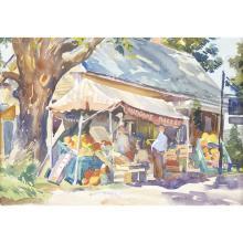 Aiden Lassell Ripley (American, 1896–1969), , The Sunshine Market