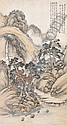 WU KU-HSIANG, CHINESE (1848-1903), LANDSCAPE ON PAPER, Guxiang Wu, Click for value