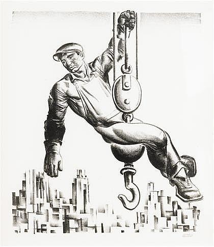 HUGO GELLERT, (AMERICAN 1892-1985),