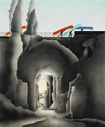 SUSAN HALL, (AMERICAN B. 1943),