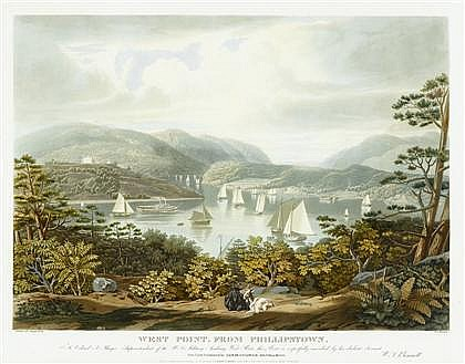1 piece. Hand-Colored Engraving. Bennett, W(illiam) J(ames).