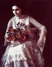 "MARIE COSINDAS, (AMERICAN, B. 1925), ""VIVIENNE"""