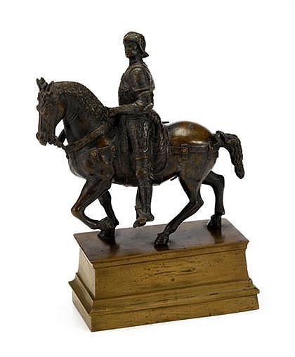 Continental bronze of Bartolomeo Colleoni