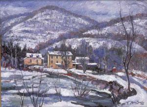 J. BARRY GREENE (American 1895-1966) 'WINTER RHYTHMS'