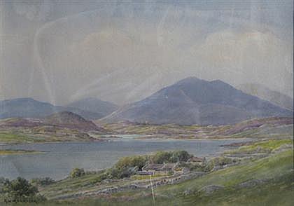 GEORGE W. MORRISON (AMERICAN 1820-1893) THREE