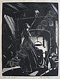 CLARE LEIGHTON (AMERICAN 1898-1989) TWO WOOD, Claire Leighton, Click for value