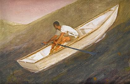 BO BARTLETT, (AMERICAN B. 1955), STUDY FOR