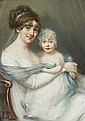 BRITISH SCHOOL, (19TH CENTURY), MOTHER AND DAUGHTER