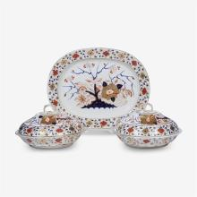 A Royal Crown Derby part dishware service, 19th/20th century
