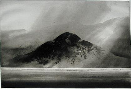 NORMAN ACKROYD, (BRITISH B. 1938) THREE ETCHINGS WITH AN AQUATINT ON BFK RIVES,