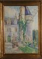 ELIZABETH GOWDY BAKER, (AMERICAN 1860-1927) THREE WATERCOLORS, CONTINENTAL SCENES, Elizabeth E Baker, Click for value