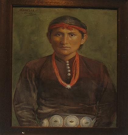 ELIZABETH GOWDY BAKER, (AMERICAN 1860-1927) THREE WATERCOLORS,