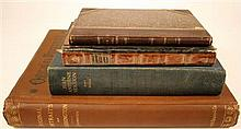 * 4 vols. Book, Graphic & Fine Arts:  Cundall, Joseph. On Book Bindings Ancient and Modern. Philadelphia: Barrie,...