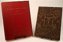 2 vols. Asian Art Reference: Waterbury, Florence. Bird-Deities in China. Ascona, Switzerland, 1952. #48/350. 4to, or...