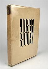 1 vol. Sudek, Joseph. Foto Grafie. Prague, 1956.  1st ed. Sm 4to, orig black-stamped grey cloth; light wear, d/j (som...