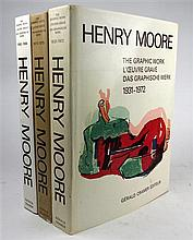 3 vols. Cramer, Gerald, at al. Henry Moore: Catalogue of the Graphic Work, 1931-1972, 1973-1975, 1980-1984. Geneva, 1973;...