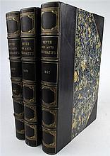 3 vols. (Decorative Arts.) Revue des arts decoratifs. (L'Art dans la vie contemporaine.) Paris: J. Rouam, 1897-1899.  Vo...