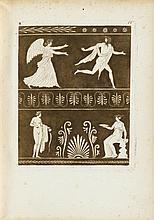 1 vol. Willemin, [N.X.] Recueil de vases d'ornaments et figures tirees de l'antique. [Paris: Esnauts et Rapilly, ca 1825....