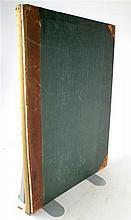 1 vol. Richardson, Charles James. Studies of Ornamental Design. [London, 1851.]  Folio, contemp calf & cloth; spine g...