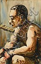CHARLES SEARLES, (AMERICAN 1937-2004), UNTITLED (BOXER), Charles Searles, Click for value