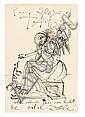 SALVADOR DALI, (SPANISH 1904-1989), UNTITLED