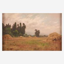 Charles Chapel Judson (American, 1864-1946) Summer Haystacks