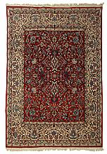Isphahan carpet, central persia, circa 1960,