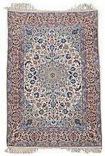 Isphahan rug, central persia, circa mid 20th century,