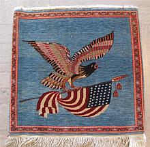 Tabriz Pictorial Rug, northwest persia, circa mid 20th century,