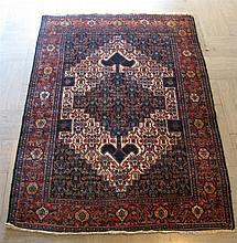 Senneh rug, northwest persia, circa 1920,