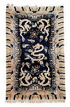 Ningxia rug, west china, circa 1900,