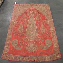 Rescht embroidery, southeast persia, circa 2nd quarter 19th century,