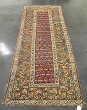 Serab long rug, north persia, circa 1900,