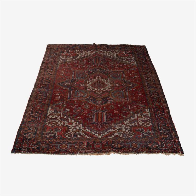 Heriz carpet northwest persia 20th century for Northwest flooring