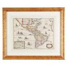 1 Piece. Color Engraved Map. (Boisseau, Jean, publisher).