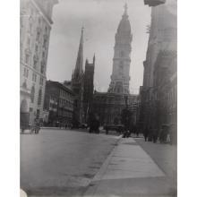 5 Pieces. (Philadelphia photo views). Original Photographic Glass Negatives. (Philadelphia), 1898.