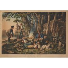 1 Piece. Hand-Colored Lithograph. Currier, Nathaniel, publisher.