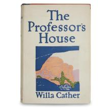 1 Vol. Cather, Willa. The Professor's House. New York: Knopf, 1925. First edition, trade issue.