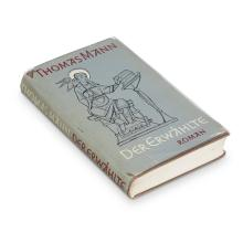 1 Vol. Mann, Thomas. Der Erwaehlte. (Frankfurt): S. Fischer, 1951. First published edition. Signed and inscribed to Peter Pringsheim.