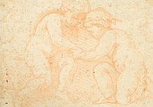 FRENCH SCHOOL, (18TH CENTURY), TWO PUTTI