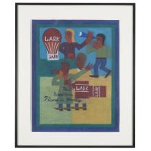 Eddie Arning (1898-1993), Lark, put some more flavor in your life, circa 1969