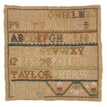 Needlework sampler,