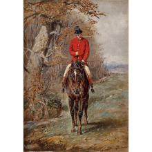 HENRY ALKEN, (BRITISH 1785-1851), HORSE AND RIDER; AND A COMPANION