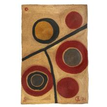 AFTER ALEXANDER CALDER, (AMERICAN, 1898-1976), FLOATING CIRCLES