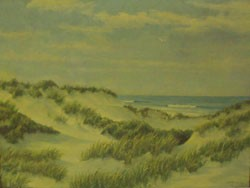 WALTER ANDREWS (American 1905-1969)  AMONGST THE DUNES
