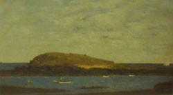 PAUL WESCOTT (American 1904-1970)  TWO BUSH ISLAND
