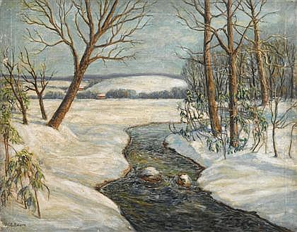 WALTER EMERSON BAUM, (AMERICAN 1884-1956),